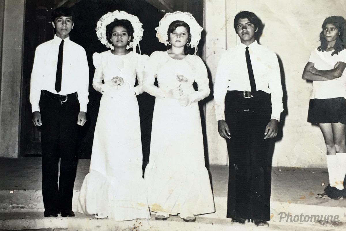 Chambelan en la juventud 14 años (Chambelan in youth 14 years), Ciudad Mazatlán, Sinaloa, Mexico, 1974