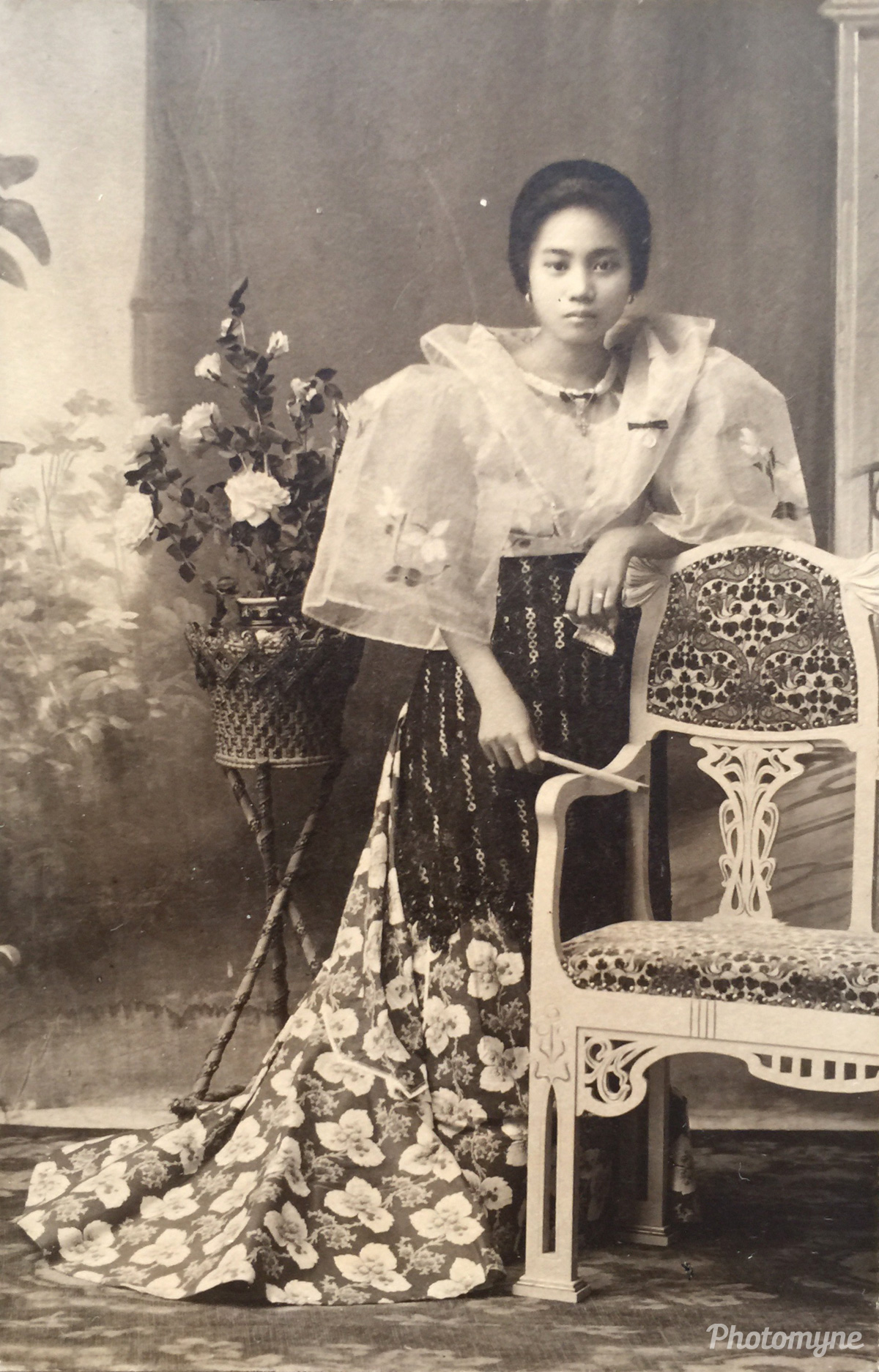 My Lola (Grandmother) Mercedes Tiglao, Mabalacat, Pampanga, Philippines, 1918