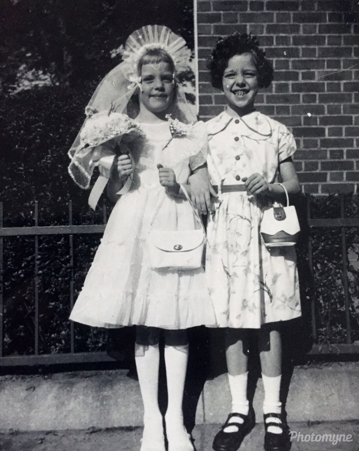 Sisters, Brooklyn, New York, United States, 1955