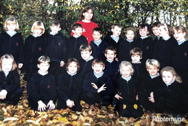 Schooljaar (School year). Belgium 1993