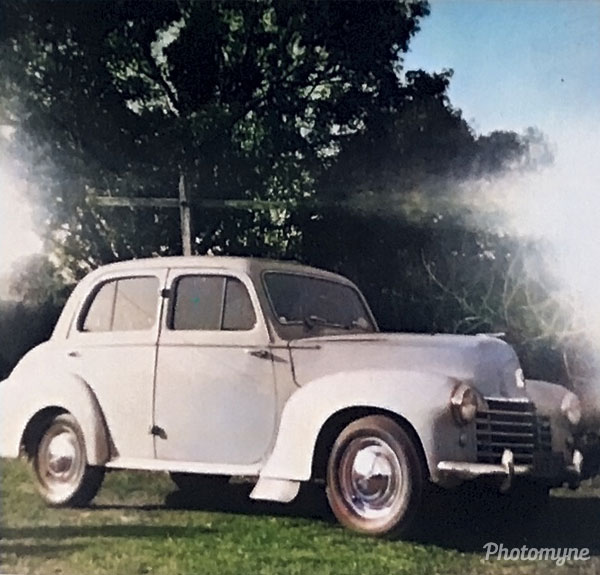 Vauxhall Velox. Australia 1953