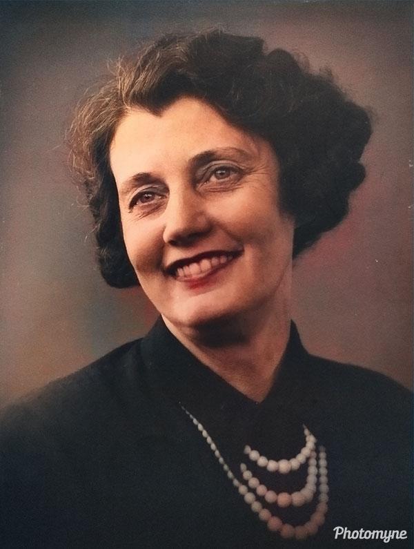 Rigmor Amalie Elisabeth Fagerstrøm (Pedersen). Denmark (unknown year)