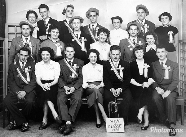 Classe 1956 (Class of 1956). France 1956