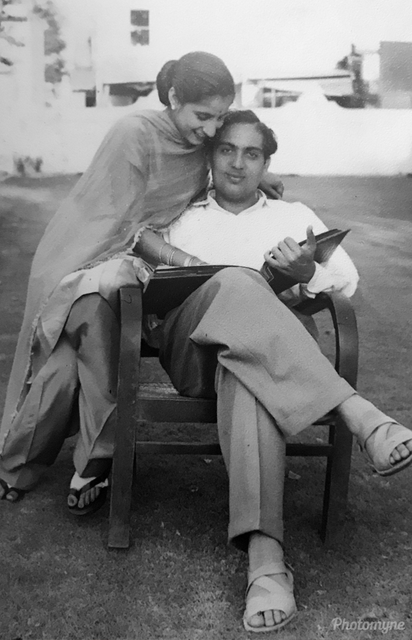 Eternal love. India 1960