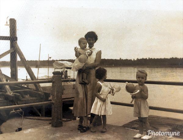 Early days in Kota Bharu Kelantan. Malaysia 1954