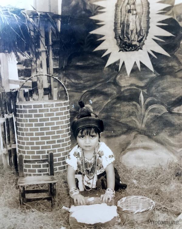 Festejo a la virgen María (feast in honor of the Virgin Mary). Mexico 1975