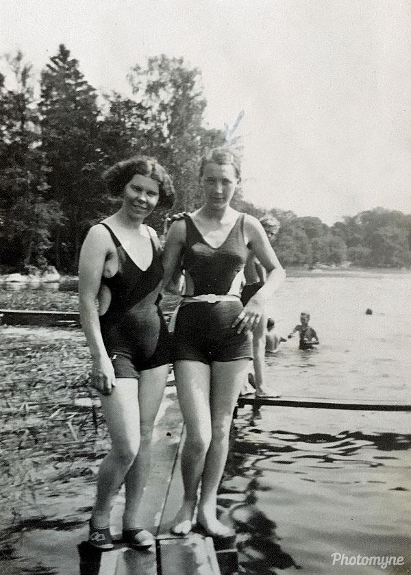 Sonja och Britta (Sonja and Britta). Sweden 1935