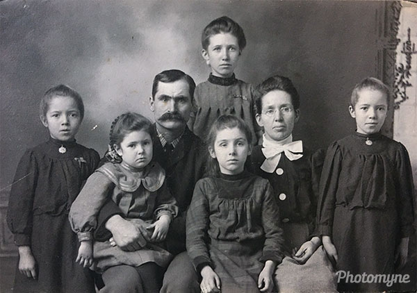 Great great great grandmother. USA 1880