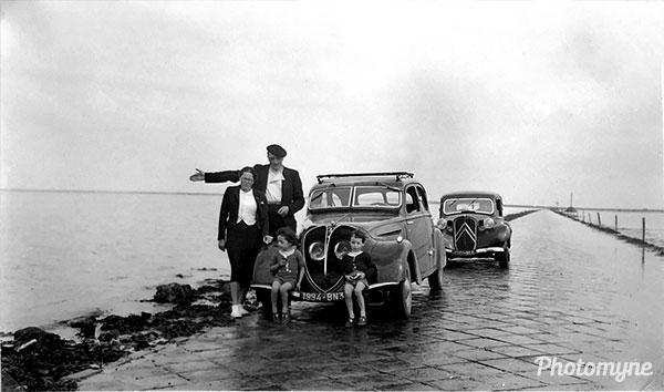 Passage du Gois. France 1939