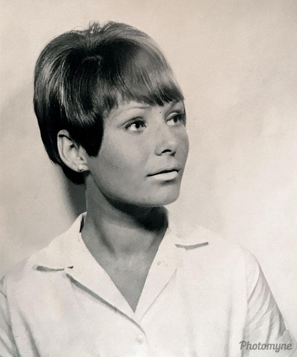 Apprentice Hairdresser. Australia 1965