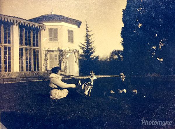 Le serre di Pederiva (the greenhouses of Pederiva). Italy 1917