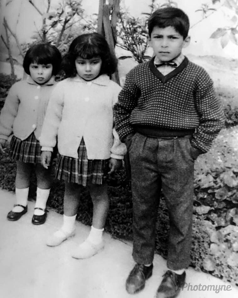 Frère et sœur (Brother and sisters), Oujda, Morocco, 1963