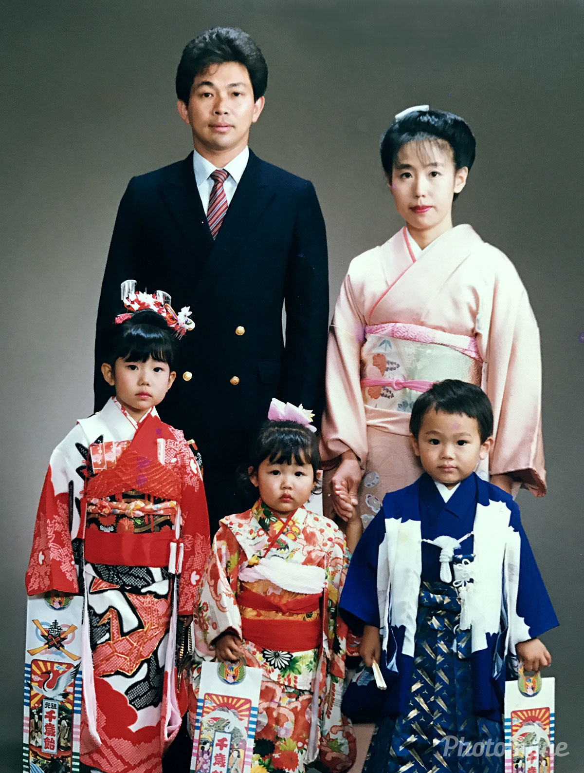 七五三詣り (Seven-five-threes celebration), Japan, 1988