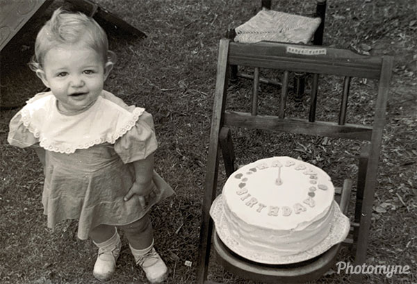 1st birthday. USA 1948
