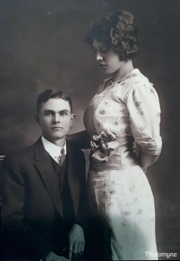 Wedding Picture. Location unknown 1914