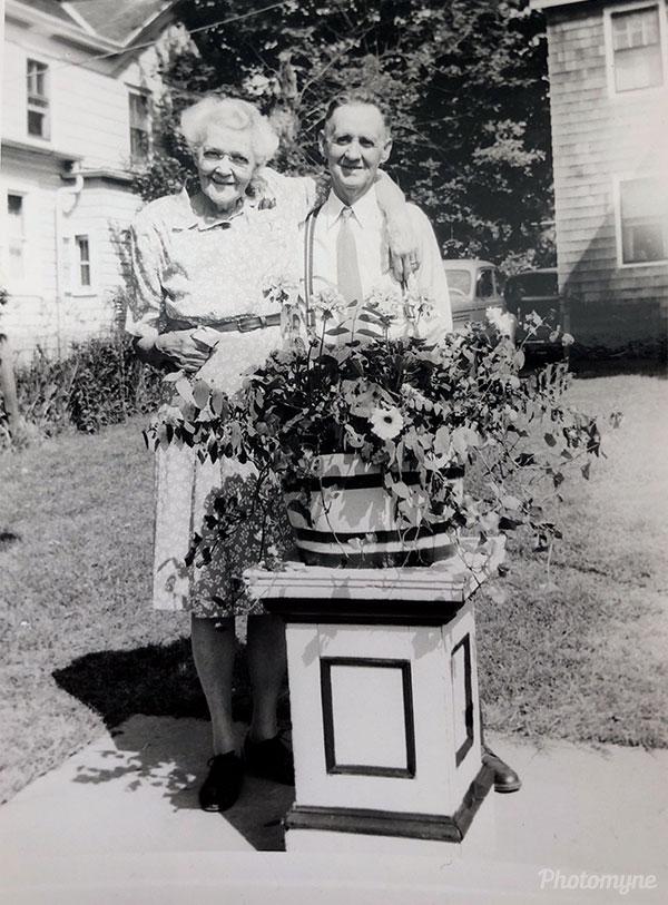 Grandma and Grandpa. USA 1946