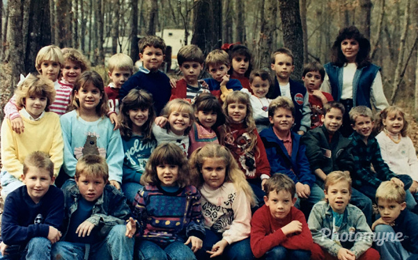 All*Star Class of 1988-1989, Hewitt Elementary School, Trussville, US