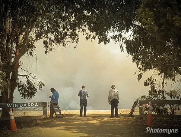 End of Windarra. Australia 2019