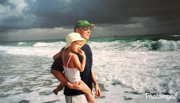 Spring Break Beach Walk. FL, USA 2005