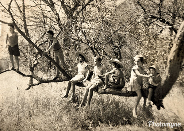 Nothing like a walk in the Magalies mountains. Pretoria, South Africa 1955
