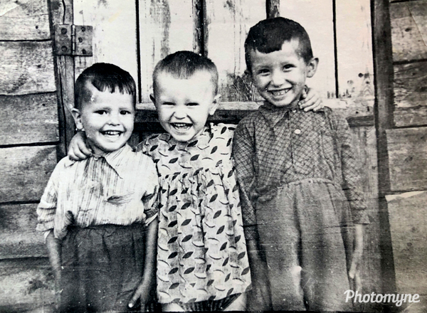 Friends. Russia 1963
