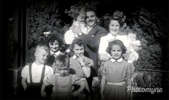Ma petite famille !!!! Issoudun Indre, Les Bordes, France, 1955