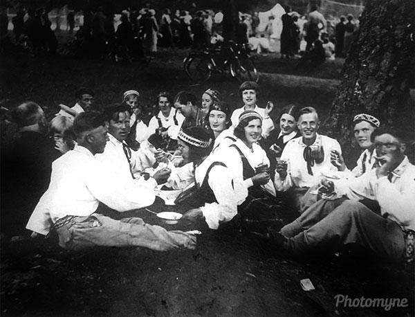 Zalumballe. Latvia 1930