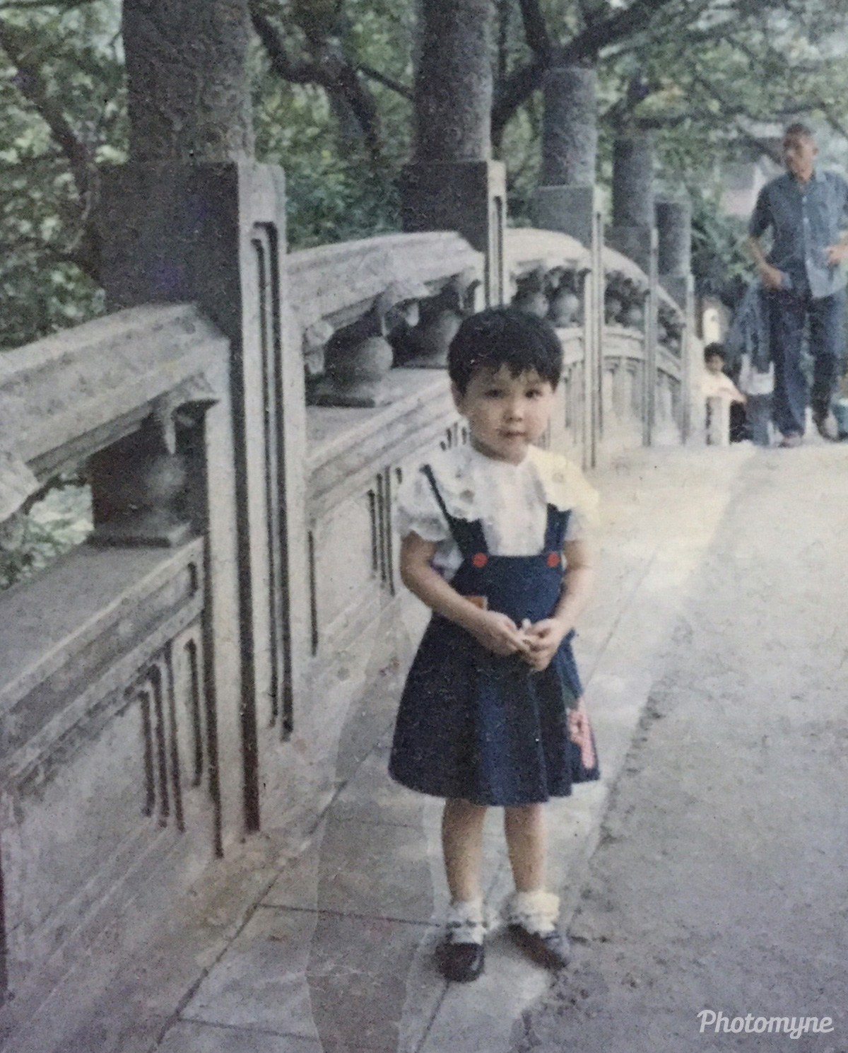 When i was young, China, 1990
