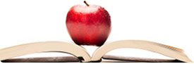 Apple in book