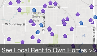 Local rent to own homes