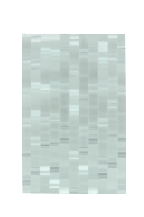 <b>White (center):</b> Scintilla Bold 1-1/4'' thick; 3/8'' grain; frosted-clear-white 3300 opaque