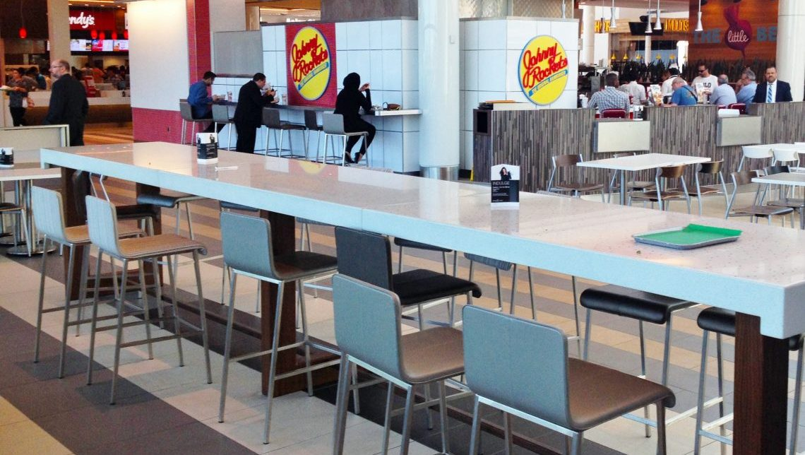 Roosevelt Field Mall Food Court 1