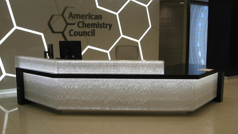 American Chemistry Council: Reception Desk 1