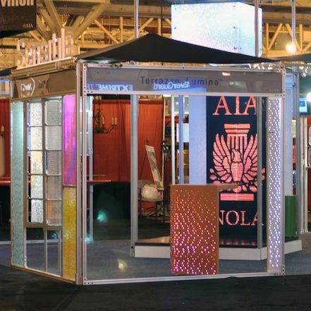 AIA Convention 2011, New Orleans: Sensitile Booth