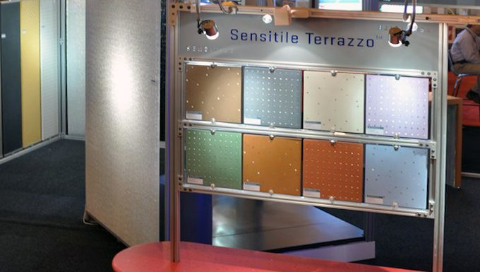 AIA Convention 2011, New Orleans: Sensitile Booth 1