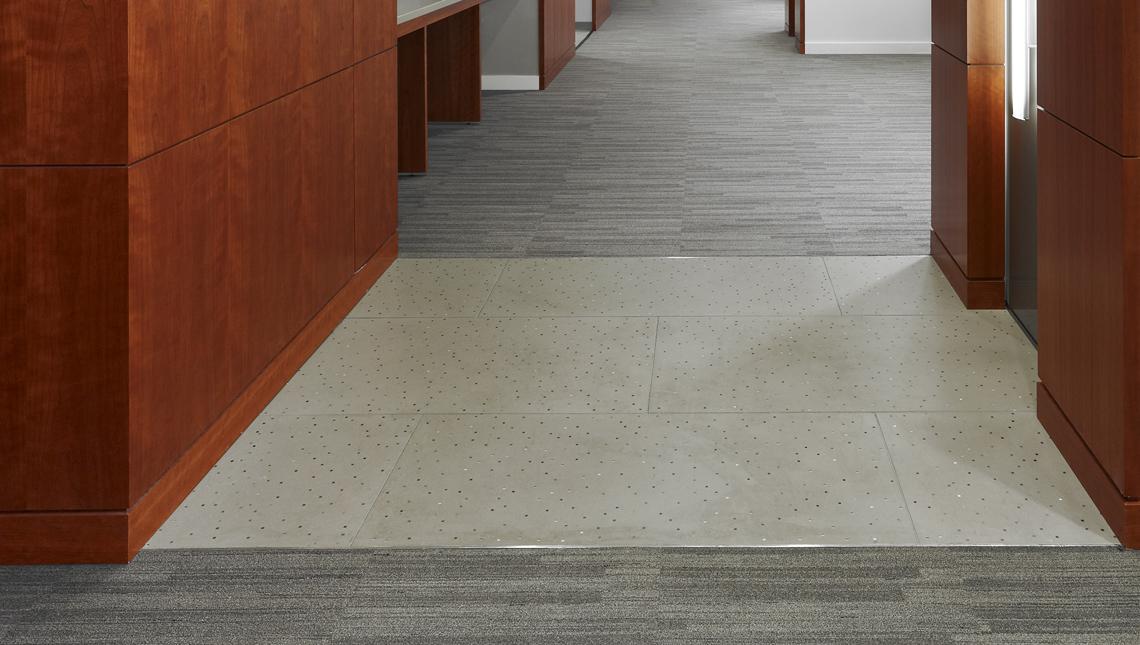 Raytheon: Sensitile Terrazzo Floor 0