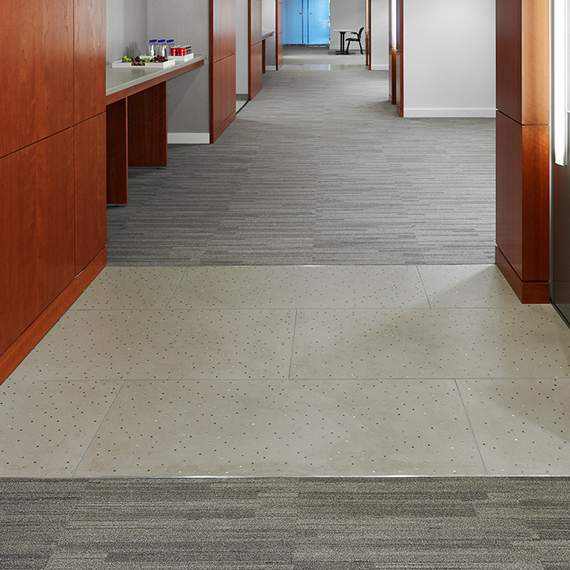 Raytheon: Sensitile Terrazzo Floor