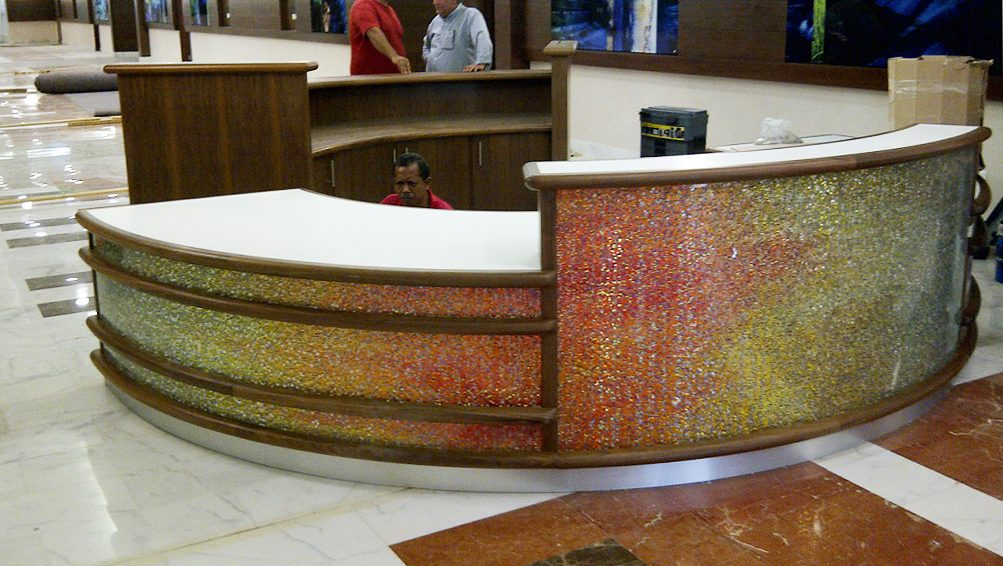 King Saud bin Abdul Aziz University for Health Sciences (KSAUHS)-Cardiovascular Center: Reception Desk 1