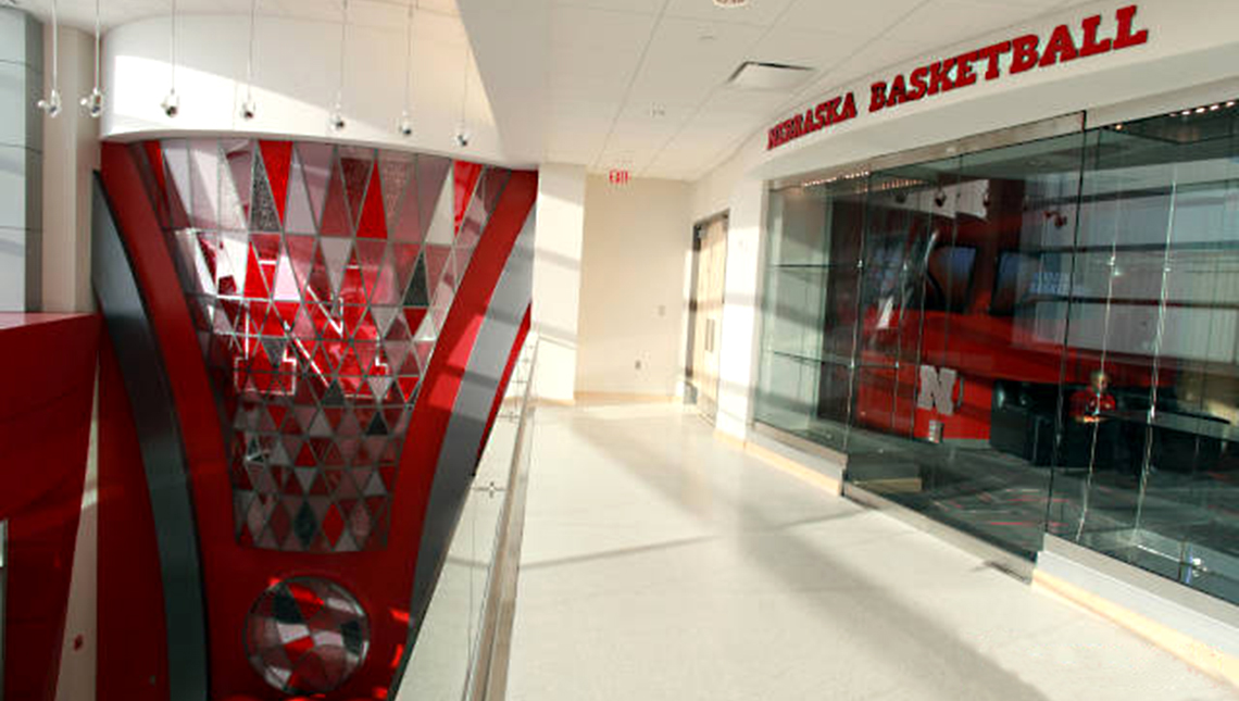 University of Nebraska, Devaney Center: Lobby Feature 0