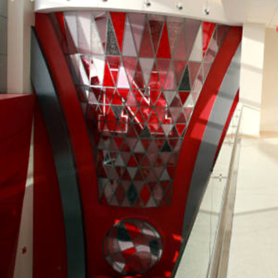 University of Nebraska, Devaney Center: Lobby Feature