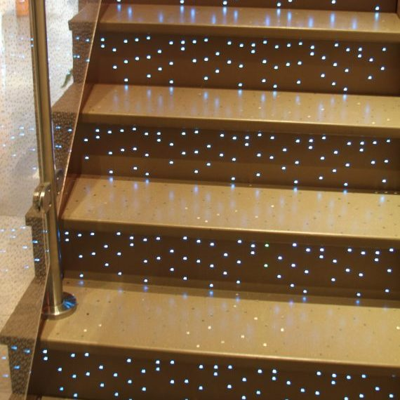 Stair Treads and Risers - Factory Showroom