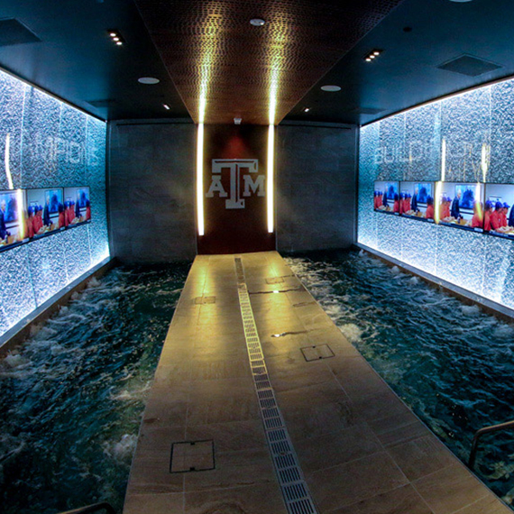 Texas A&M Locker Room
