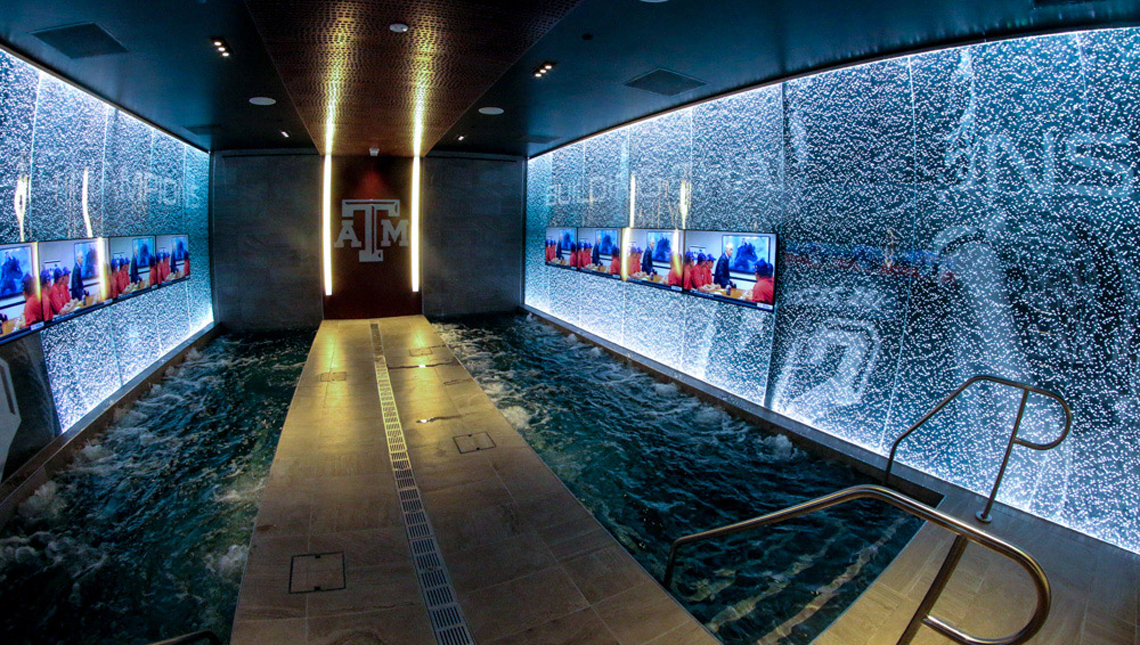 Texas A&M Locker Room 1