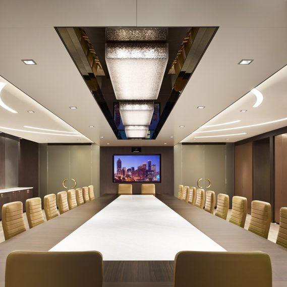 Financial Institution - Ceiling Light Fixtures