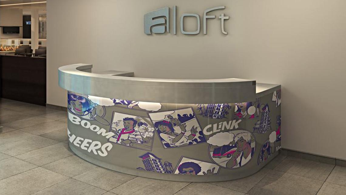 Aloft Hotels, Front Desk 4