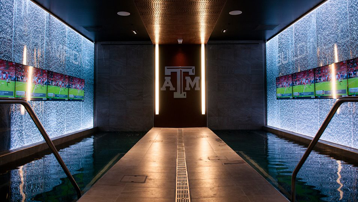 Texas A&M Locker Room 0