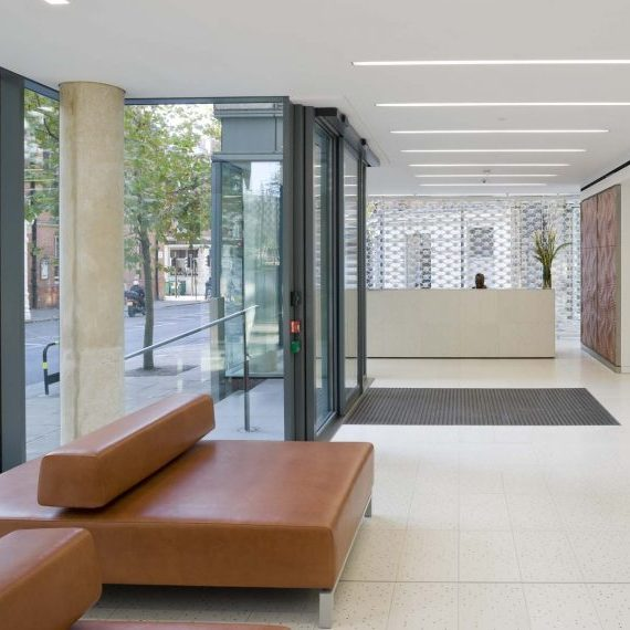 Office Building Flooring, London