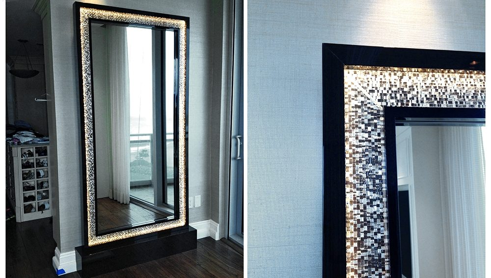 Private Residence: Mirror Frame 0