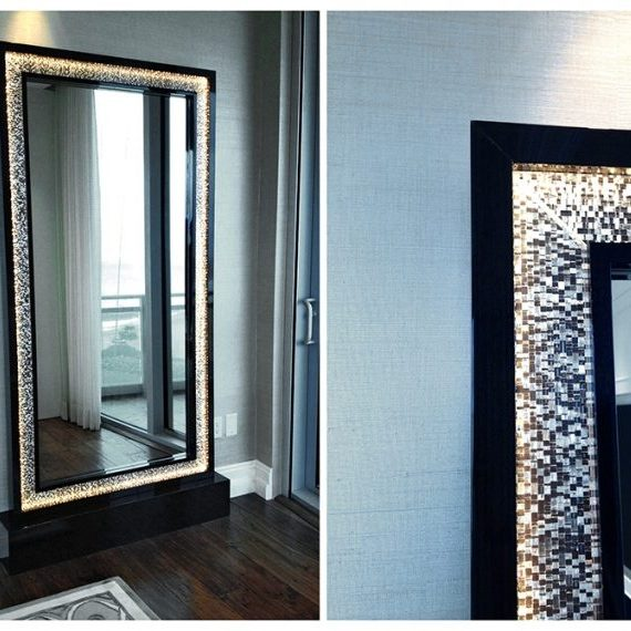 Private Residence: Mirror Frame