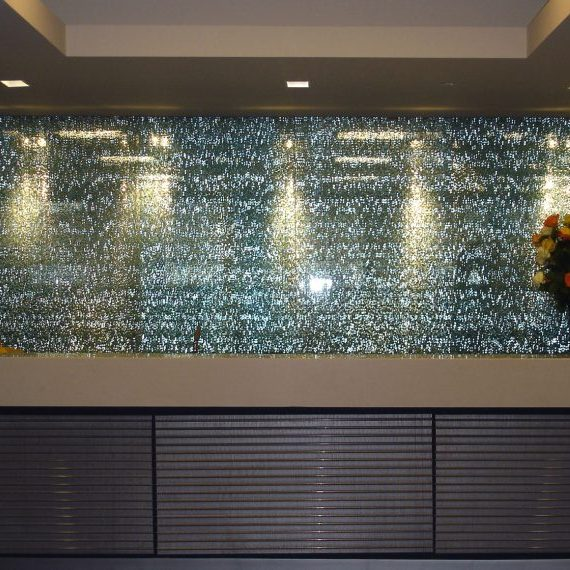 Standard Chartered Bank Feature Wall